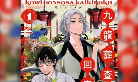 Kowloon Sōsa Kaikiroku Manga