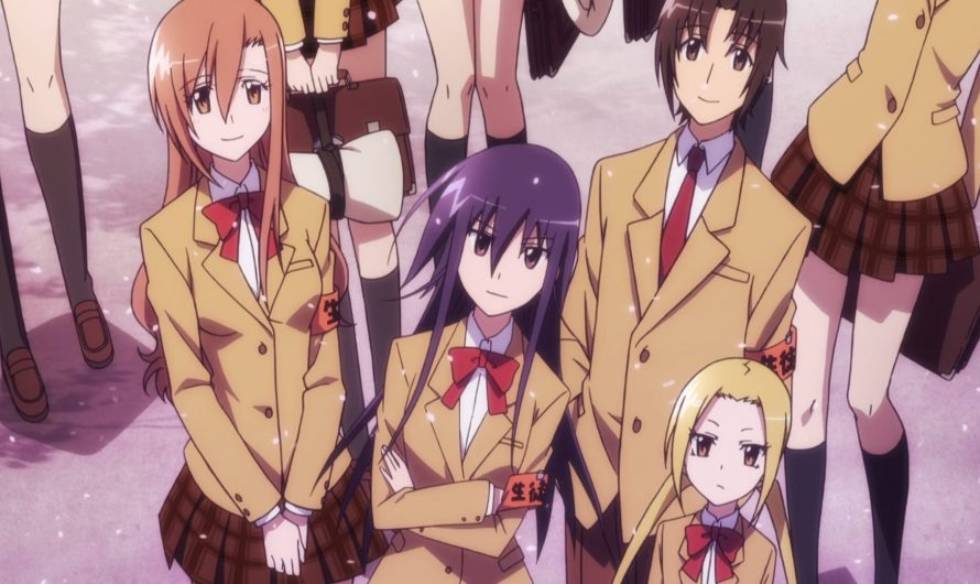 Seitokai Yakuindomo Manga endet mit Band 22 im Januar